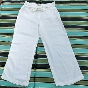 Banana Republic 100 perfect linen pants